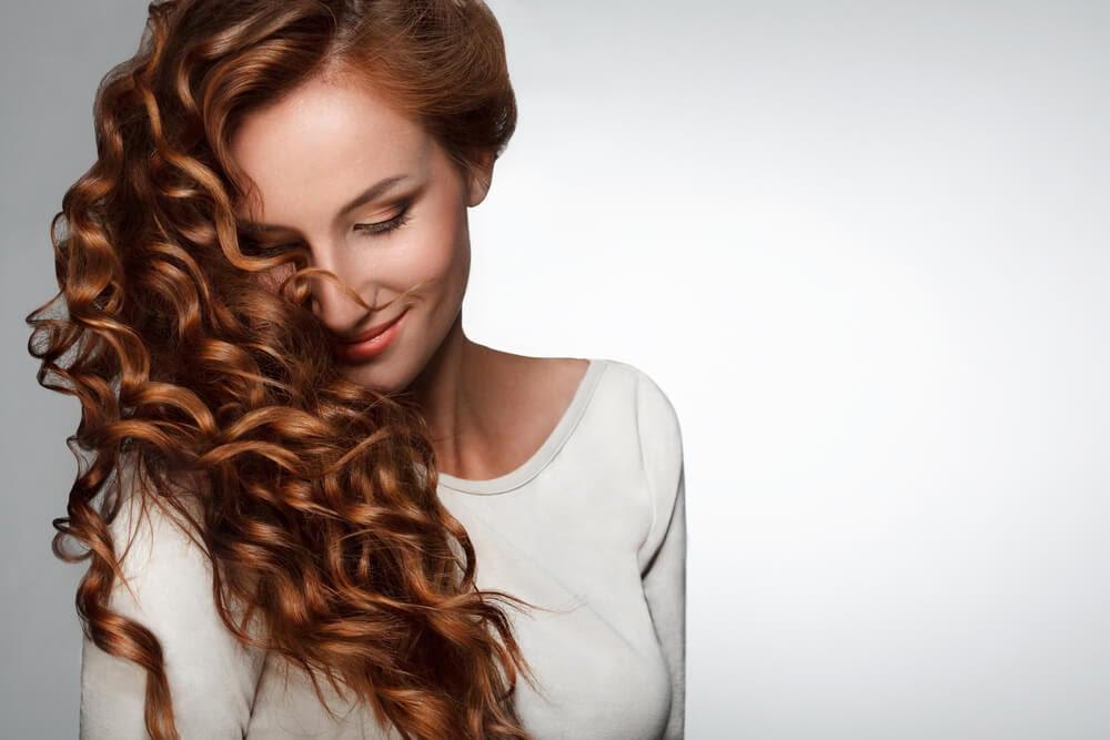 Acondicionador para cabello rizado